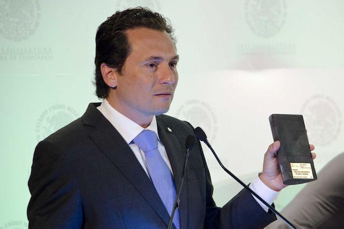 Lozoya durante su participación en el primer día de la III Reunión Plenaria del PRI en San Lázaro, ocurrida en 2013.