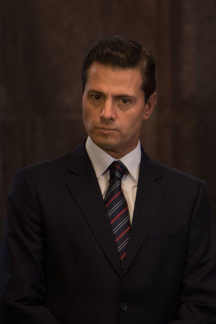 El expresidente Enrique Peña Nieto en junio de 2018.