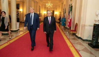 Diplomacia mexicana ante EU