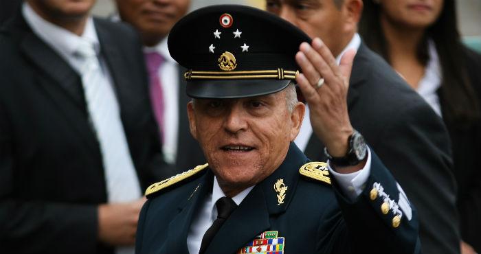 Salvador Cienfuegos, exsecretario de la Defensa Nacional.
