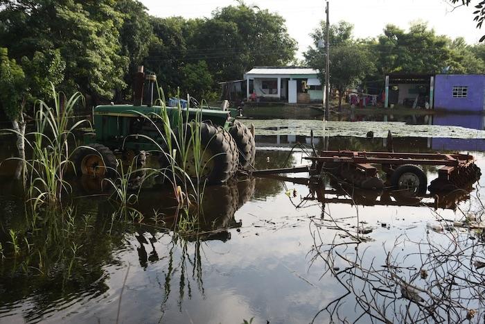 inundacion ejido tabasco - Empresas riegan el agua del país como quieren. La Conagua exige nueva Ley que cerrará la llave