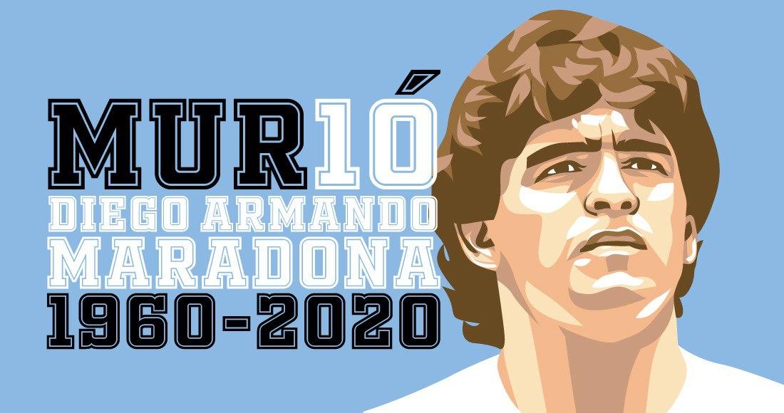 """maradona 9 - La muerte de Maradona, """"la leyenda del futbol"""", acapara las portadas de los medios del mundo"""