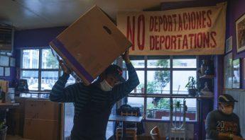 Mexicanos en NY alimentan gratis a miles con hambre