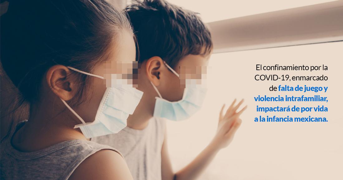 ninoscovid - 70% de la niñez mexicana sufre ansiedad por el confinamiento, dice estudio