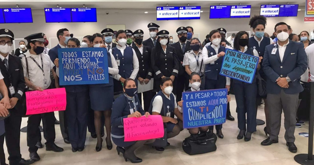 protesta-trabajadores-interjet-cancun