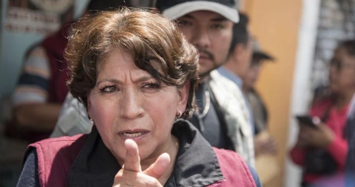 La morenista Delfina Gómez, nueva Secretaria de Educación Pública.
