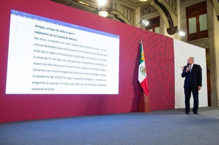 AMLO leyó esta mañana un mensaje para todos los mexicanos ante la pandemia que se vive en el país.