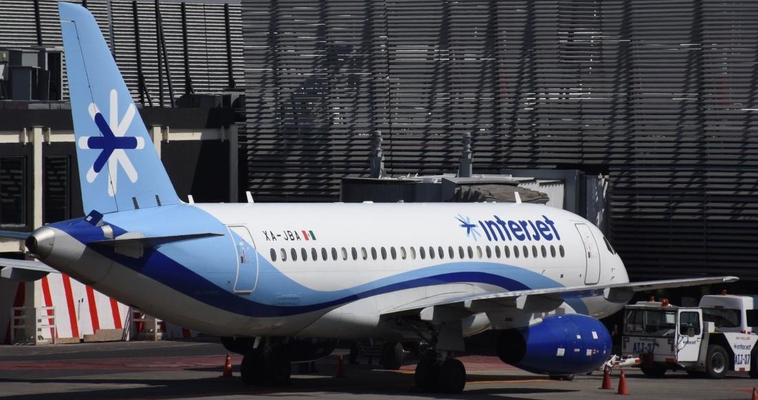 avion interjet estacionado - La IATA saca a Interjet de lista de aerolíneas que pueden vender boletos en agencias de viajes