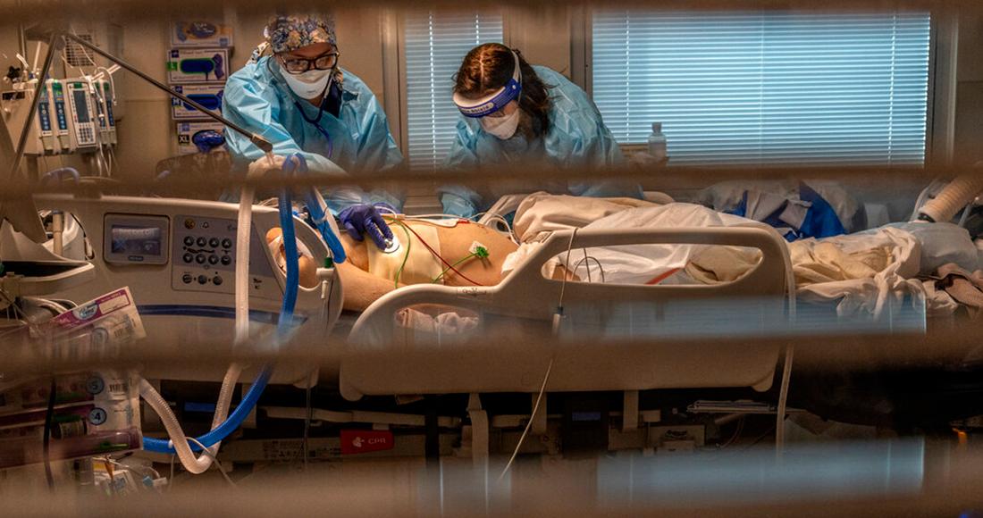 """california covid - """"Nadie creería que esto es EU"""". Hospitales del sur de California reportan colapso por casos COVID"""