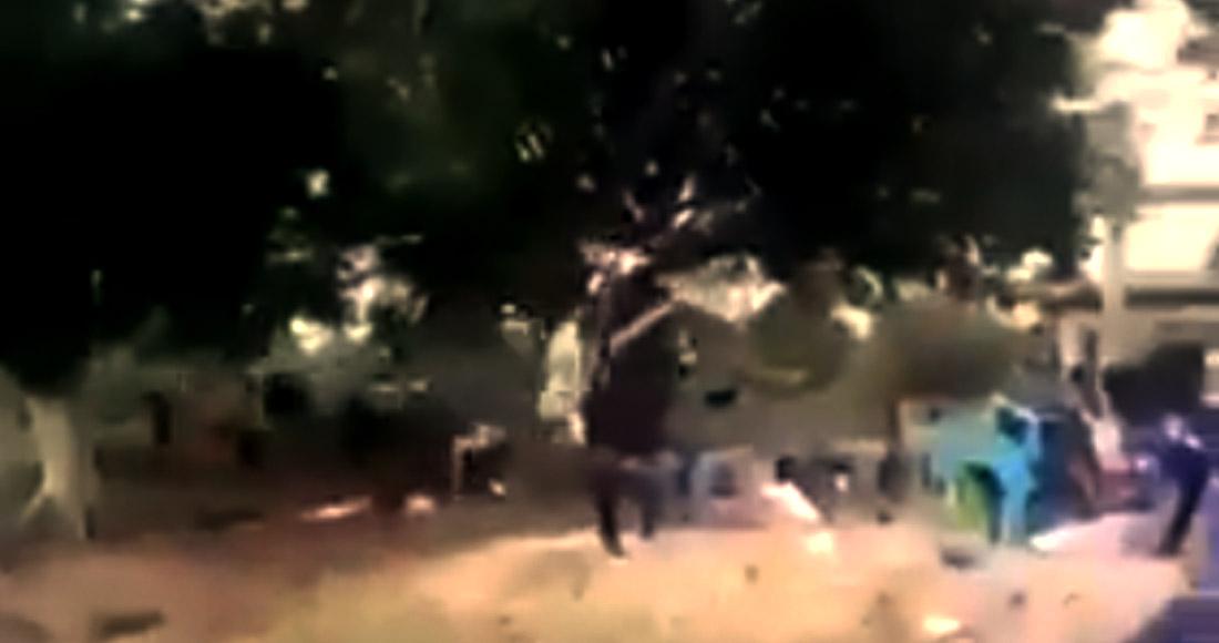captura 1 - Un conductor mata a golpes a un taxista con el que había chocado en calle estrecha de Iztapalapa
