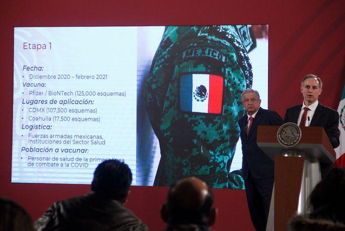 Hugo López-Gatell Ramírez,Subsecretario de Prevención y Promoción de la Salud, en conferencia de prensa.