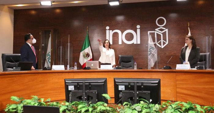 Blanca Lilia Ibarra Cadena, nueva presidenta del INAI.