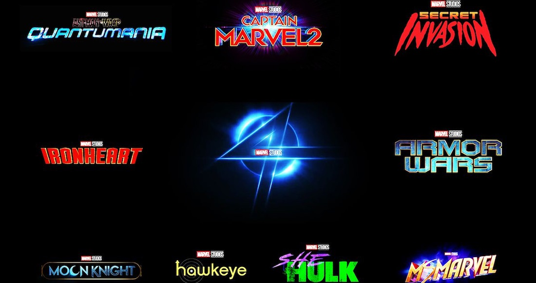 marvel 10 series - ¿Cómo queda el calendario de estrenos de Marvel con títulos confirmados para 2021, 2022 y 2023?