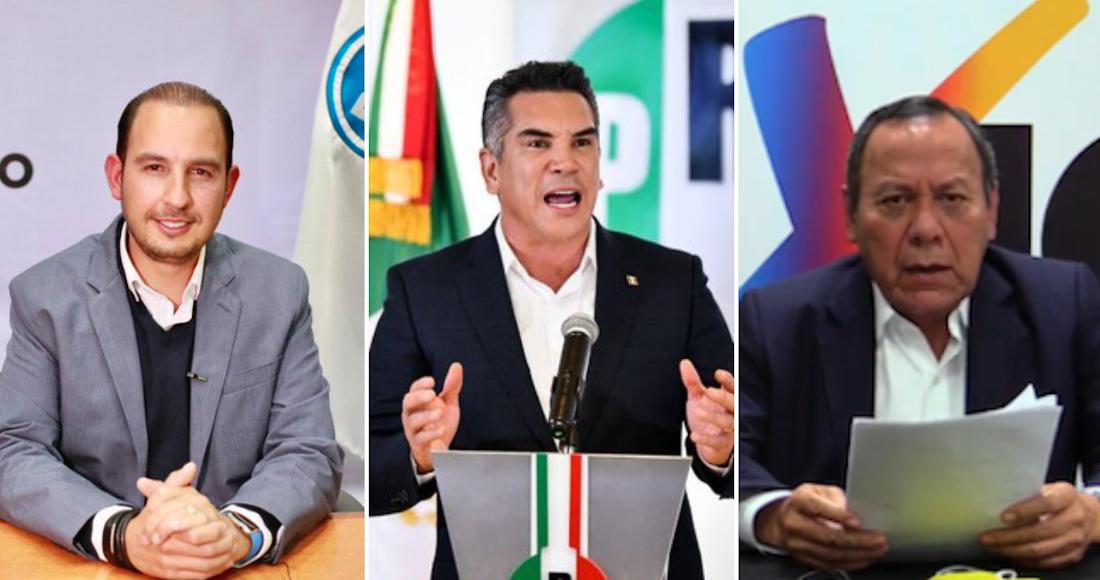 va por mexico - Instituto Electoral de Guanajuato rechaza coalición de Morena con el PT y Nueva Alianza para 2021