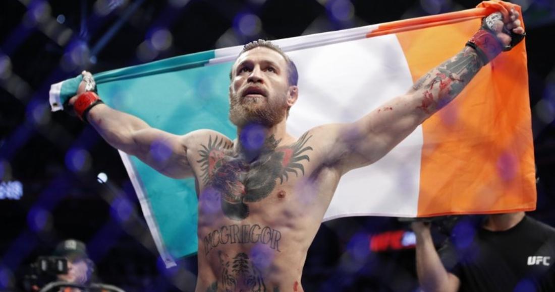 800 2021 01 09t112525 739 - FUERTE VIDEO: Conor McGregor trata de resistir la golpiza, pero lo noquean en el segundo round
