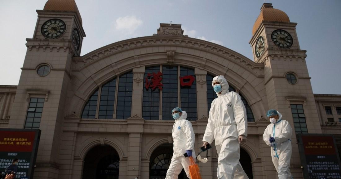 befunky collage 2 24 1 - Equipo de la OMS visita otro hospital que atendió primeros casos de COVID-19 en Wuhan, China
