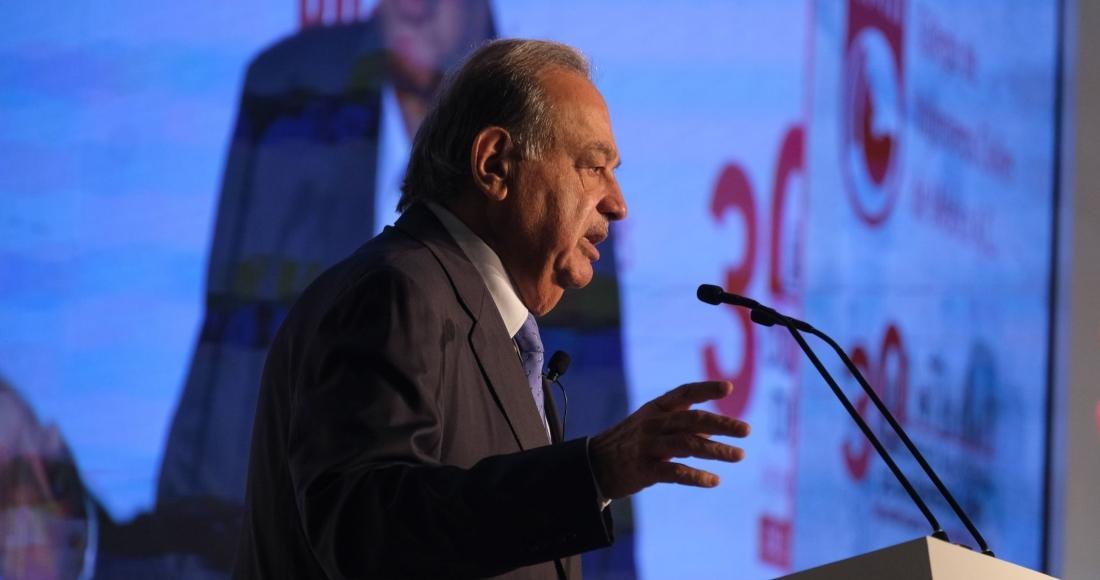 carlos slim conferencia - El hombre más rico de México, Carlos Slim, recibe su cumpleaños 81 hospitalizado por la COVID