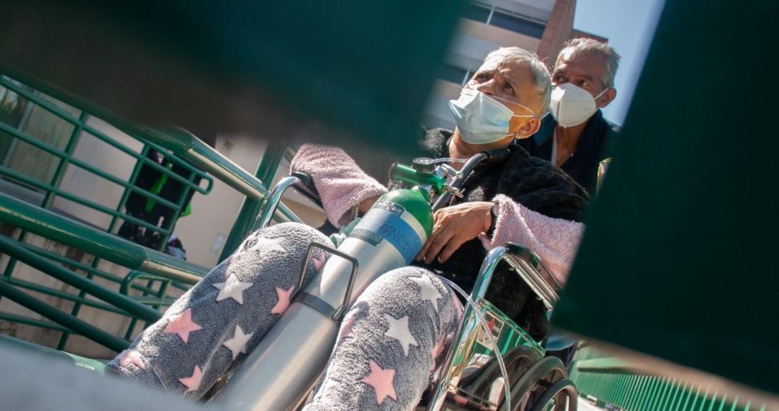 enfermos covid 1 - Roque dejó Guanajuato y se fue a EU. Una vida de trabajo. Y a los 65, COVID. Piden ayuda para sepultarlo