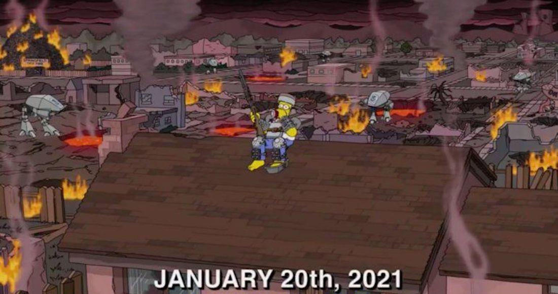eslriejxyaiuk5h - ¿Los Simpson predijeron el atuendo de Kamala Harris en la investidura? Fans la comparan con Lisa
