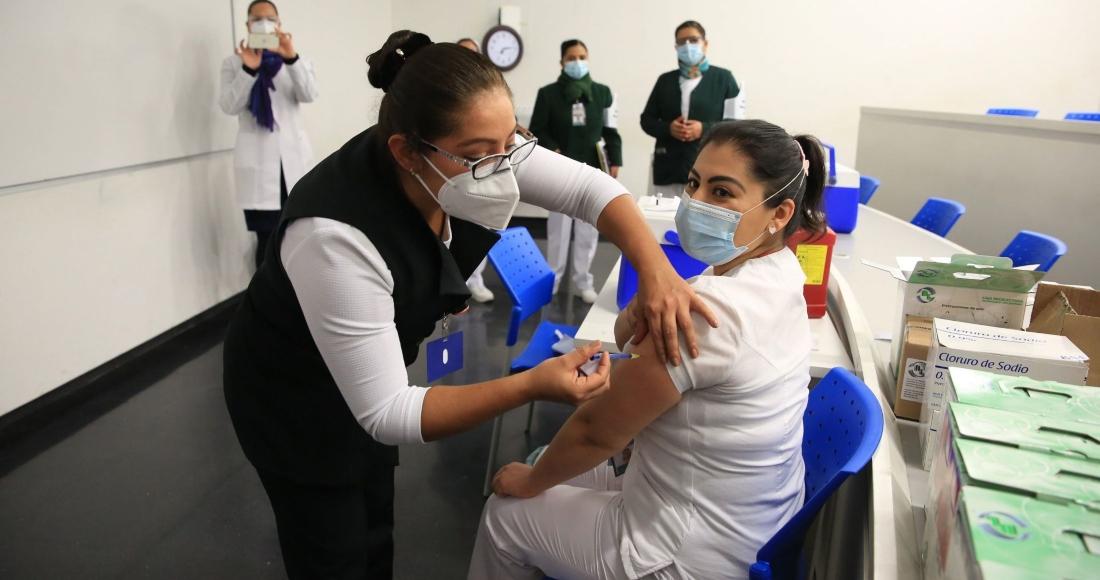 inyeccion covid 19 vauna mexico - Es indispensable que el sector privado participe en distribución y aplicación de las vacunas: Coparmex
