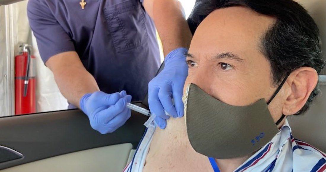 juan jose origel - La primera jornada de vacunación contra la COVID-19 para latinos inicia en Los Ángeles