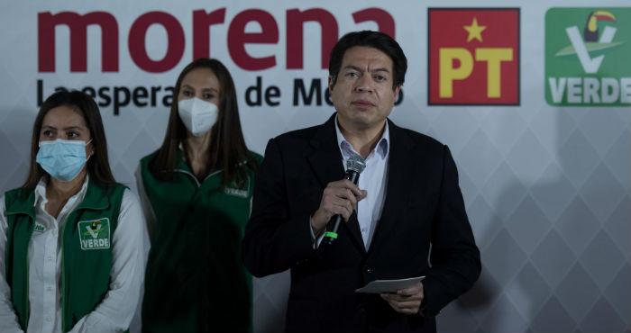 Mario Delgado, dirigente de Morena.