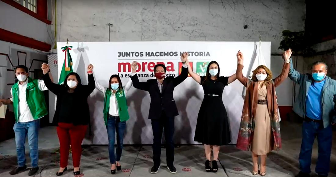 morena pve - Delgado: Aspirantes que piden judicialización no entienden dimensión de Morena, les gana la ambición