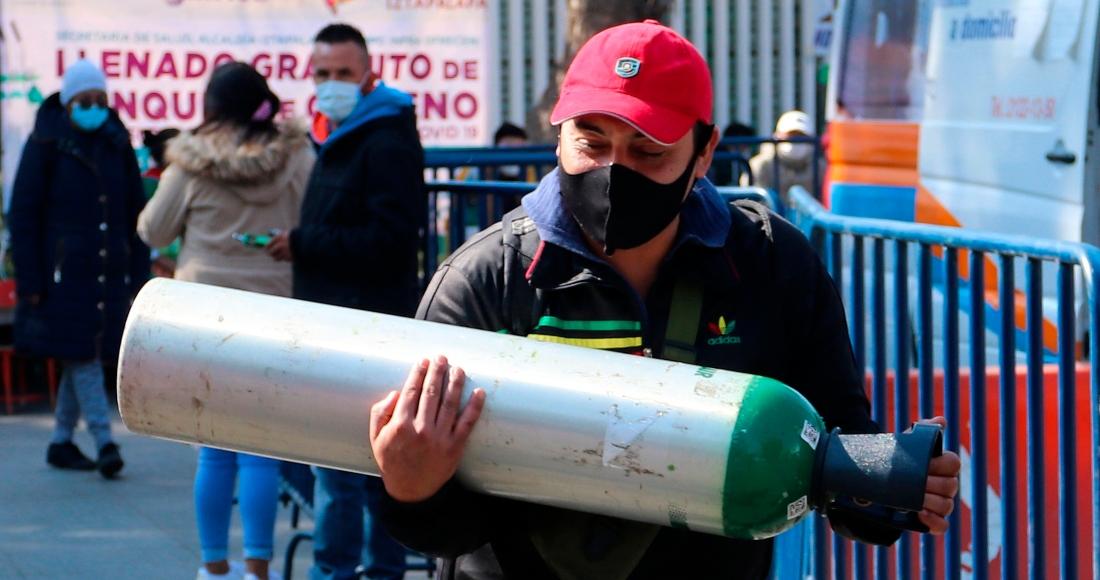 oxigeno2 - Roque dejó Guanajuato y se fue a EU. Una vida de trabajo. Y a los 65, COVID. Piden ayuda para sepultarlo