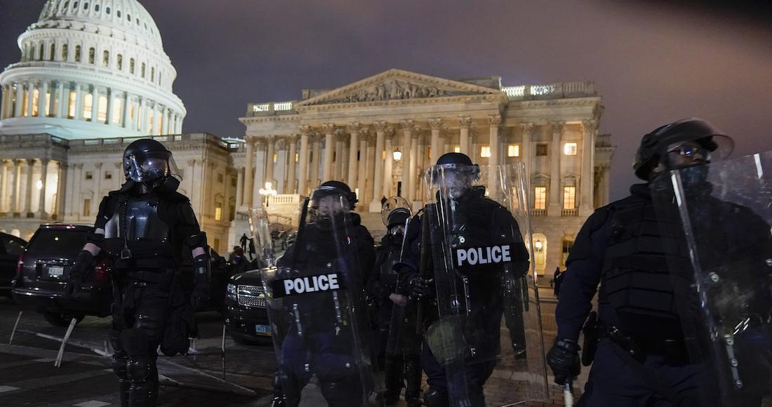 protesta - El Congreso de Estados Unidos retoma sesión para corroborar el resultado de las elecciones