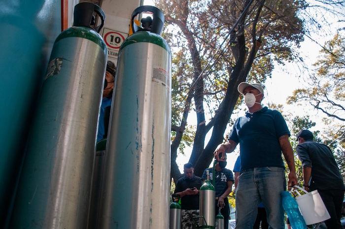 tanques - Demanda de tanques de oxígeno por COVID abre la puerta a estafas, robos y otro delitos en México