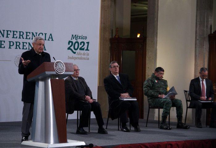 amlo conferencia 16 de febrero de 2021 - México llevará mañana una queja ante la ONU contra los países acaparadores de vacunas, anuncia Ebrard