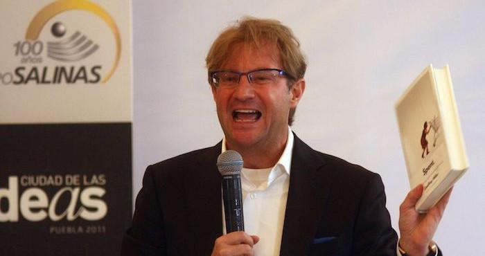 Andrés Roemer, curador del Festival Internacional de las Mentes Brillantes.
