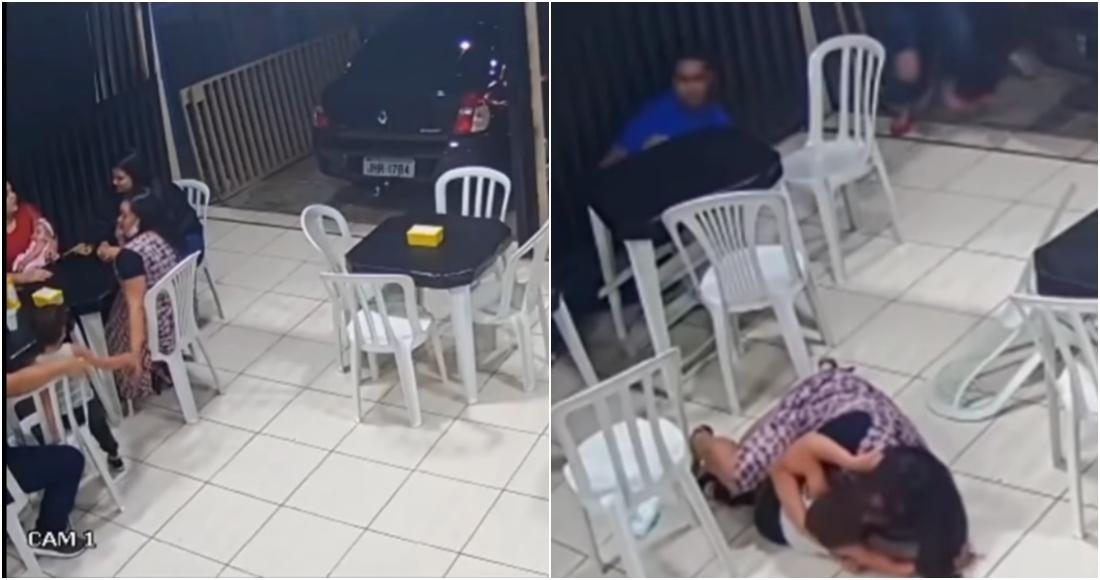 madre hijo balacera - Joven estrangula al sujeto que le robó el celular. Graba los hechos y los comparte en la redes