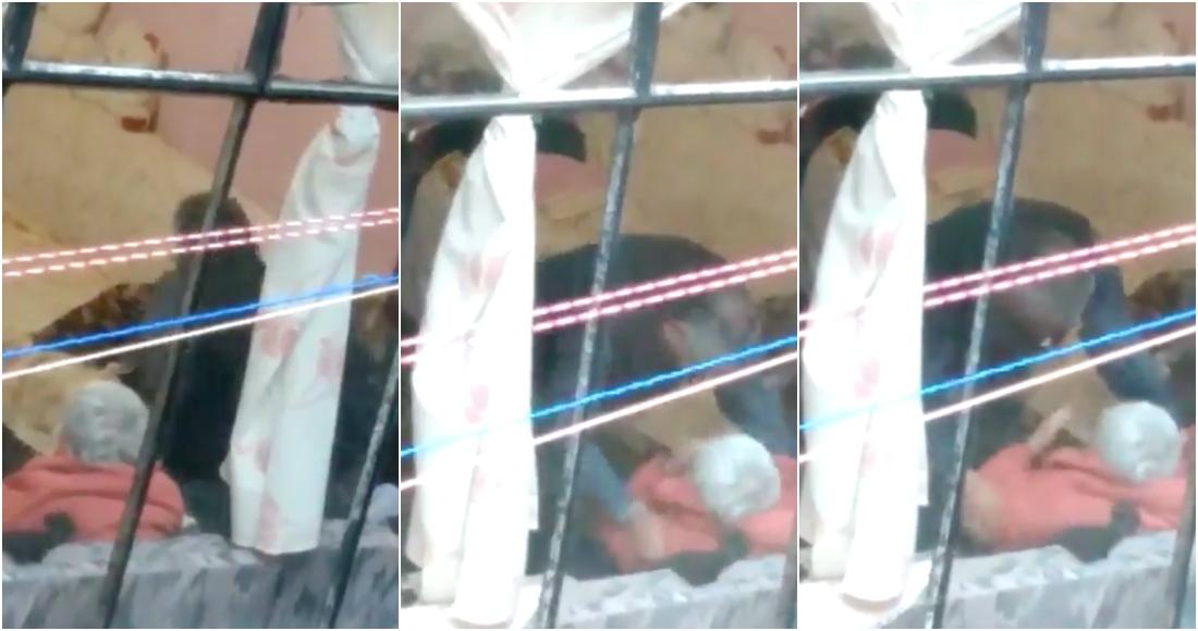 maltrato anciana - La FGJ-CdMx detiene a hombre que golpeó a mujer de 95 años. Es su hijo, y ya está en el Reclusorio Sur