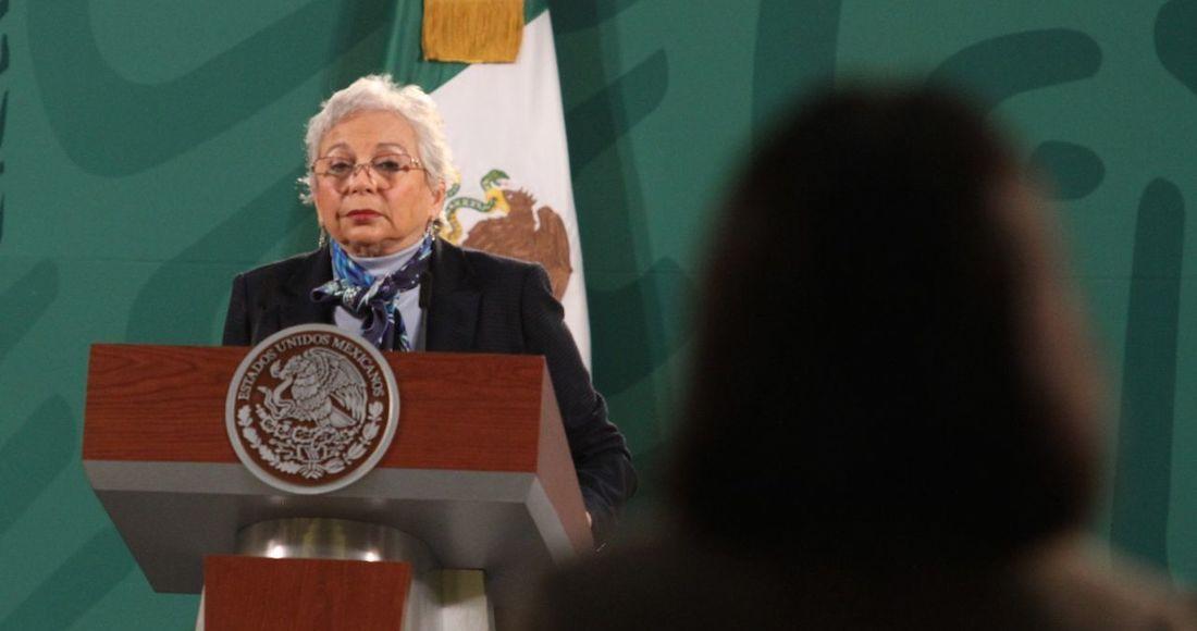 """olga sanchez 1 - """"Nosotros lo que sí queremos es la devolución del dinero"""" en el caso Ancira: AMLO; """"no hay persecución"""", dice"""