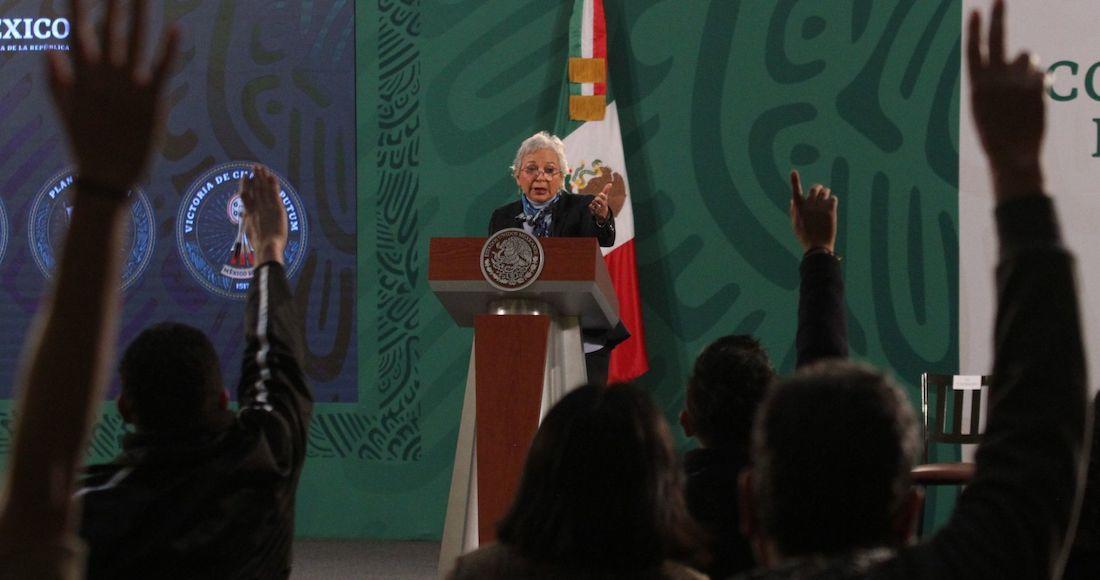 olga sanchez 2 - El voto de Sánchez Cordero evitó que Mario Marín se escapara del juicio político, dice Lydia Cacho
