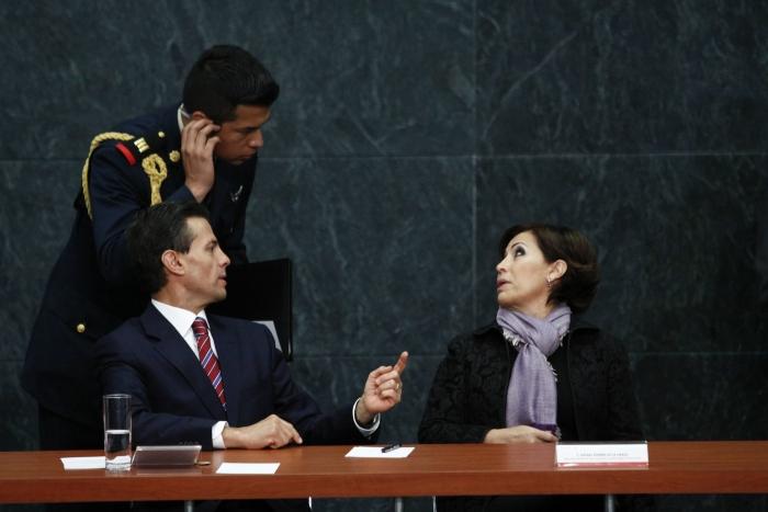 Rosario Robles fue funcionaria de dos secretarías de Enrique Peña Nieto.