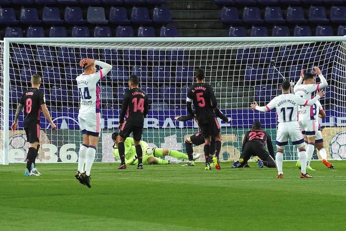 valladolid - Carlos Casemiro le da la victoria a Real Madrid durante su encuentro ante el Valladolid