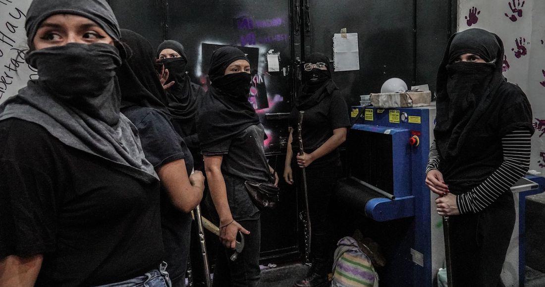 cndh toma feminista - La CNDH cesa de su cargo a exjefe de granaderos por supuesto abuso de autoridad y violación de derechos
