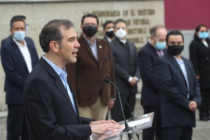 El Consejero presidente del Instituto Nacional Electoral (INE), Lorenzo Córdova Vianello.