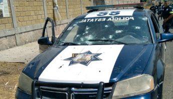Emboscada policias Coatepec Harinas