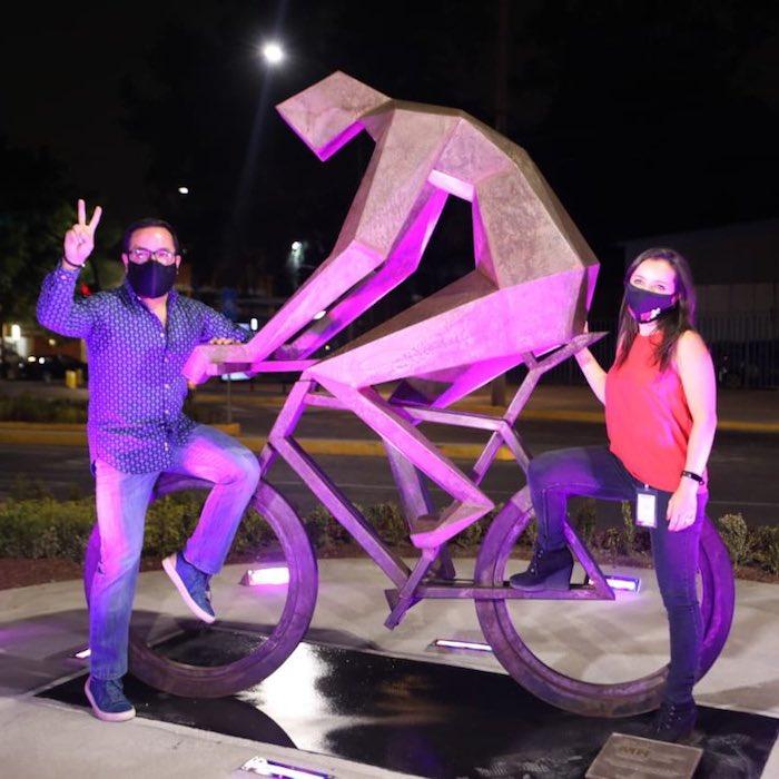 exiecj xmaitv x - FOTOS: Ciclovía luminosa es inaugurada en la Alcaldía Miguel Hidalgo de la Ciudad de México