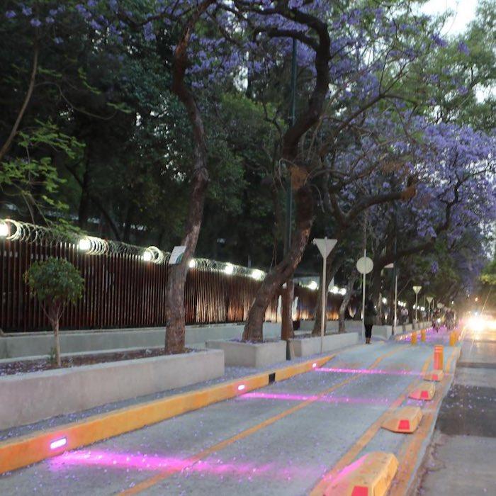 exiecj9wyaigvps - FOTOS: Ciclovía luminosa es inaugurada en la Alcaldía Miguel Hidalgo de la Ciudad de México