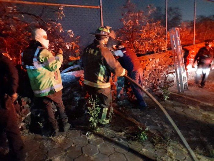 exygopbu4aifmgi - FOTOS: Bomberos combaten un incendio en la colonia Fuentes del Pedregal, Alcaldía Tlalpan, CdMx