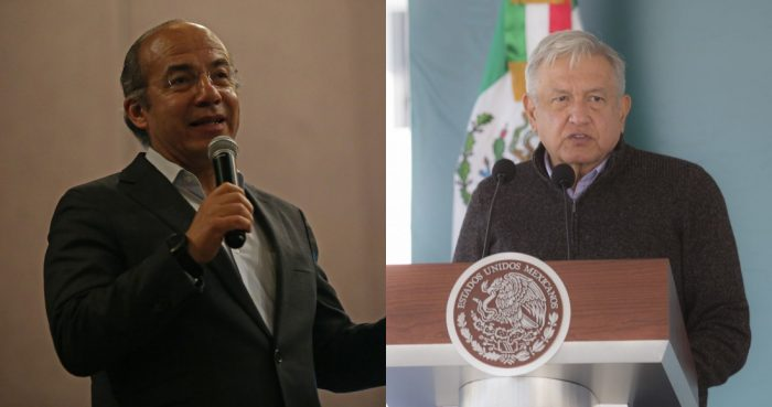 Felipe Calderón y Andrés Manuel López Obrador.