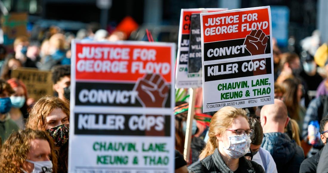 floyd policia sentencia - Por primera vez muestran VIDEO de la cámara corporal del expolicía que asesinó a George Floyd