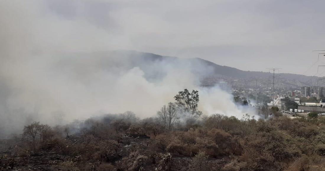 incedio - El Meteorológico Nacional pronostica vientos fuertes y probables tolvaneras en 11 entidades
