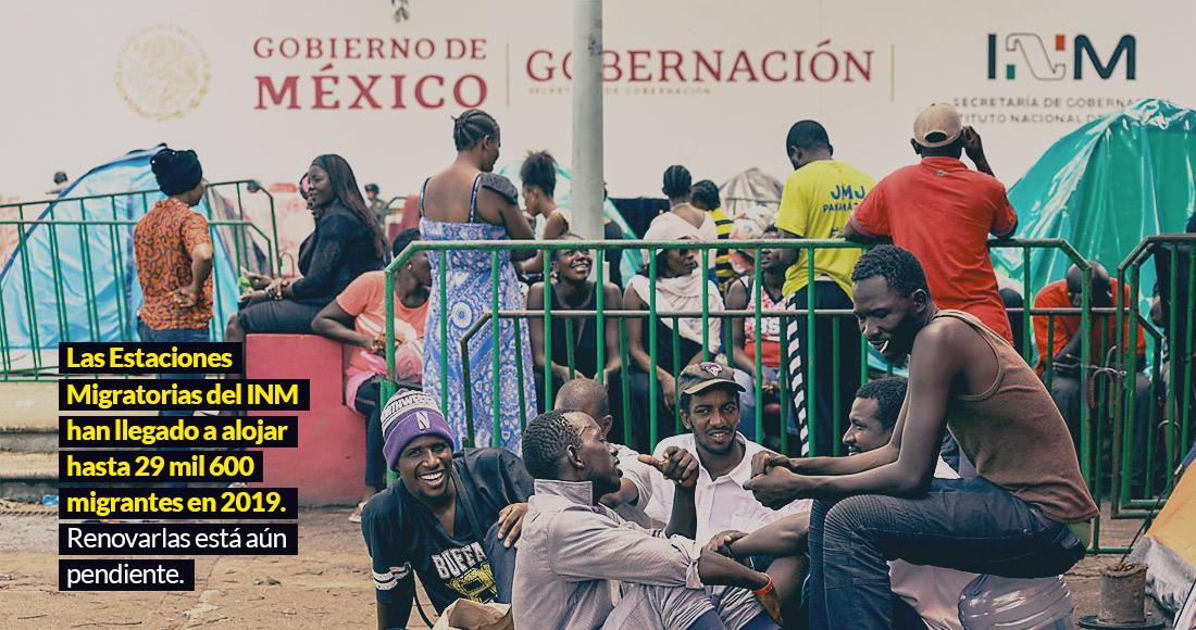inm19 - La Guardia Nacional rescata a 61 migrantes, 33 de ellos menores de edad, hacinados en camión en Nuevo León