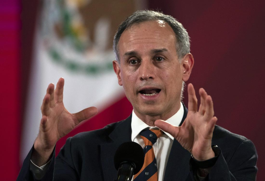 Hugo López-Gatell dio a conocer su contagio de COVID-19 en pasado 20 de febrero. Foto: AP