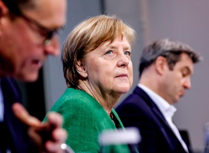 """merkel 1 - """"Tenemos una nueva pandemia"""", alerta Merkel a Alemania; ordena el encierro total durante Pascua"""